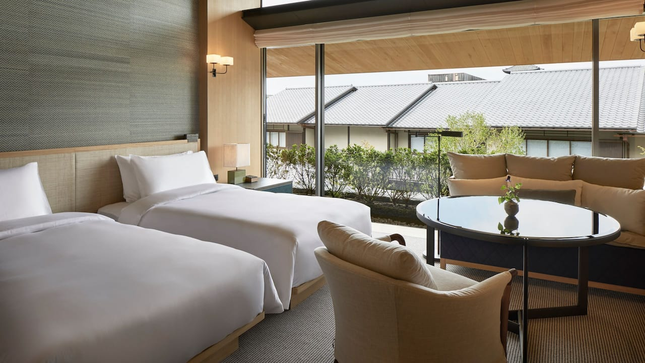 ガーデンビューツイン | パークハイアット京都