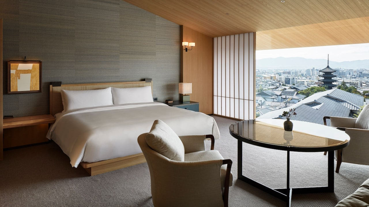 Deluxe View King at Park Hyatt Kyoto
