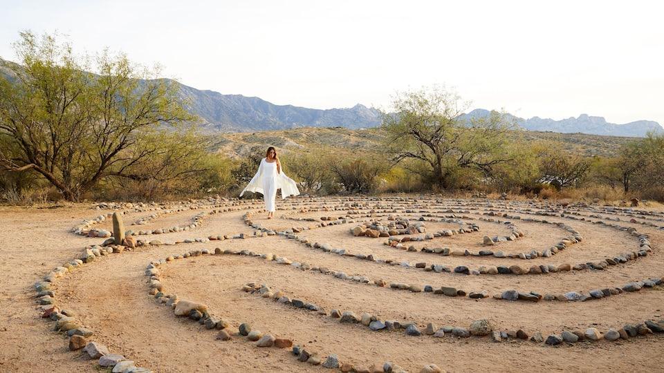 Miraval Labyrinth