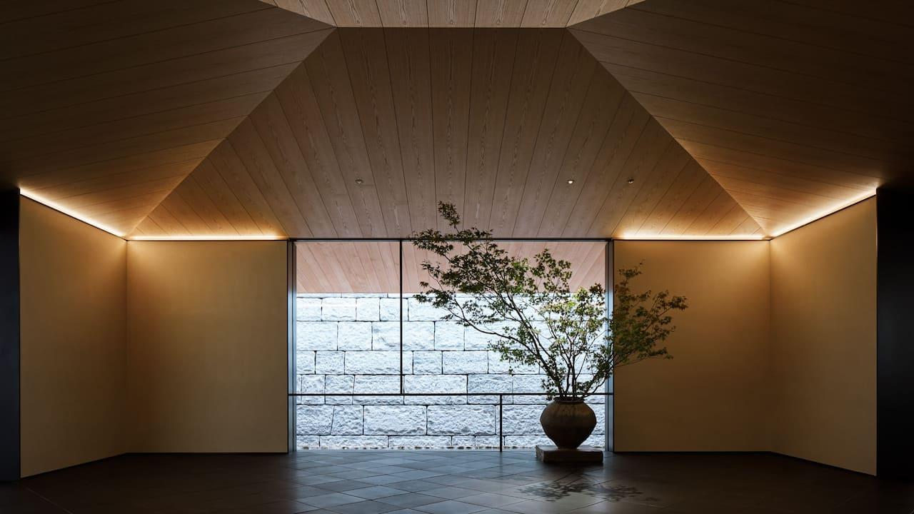 Park Hyatt Kyoto | Arrival Pavilion