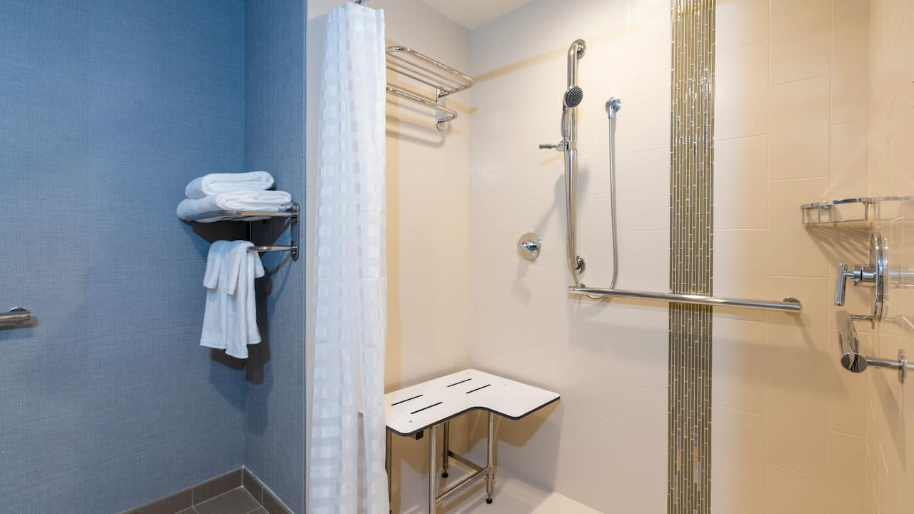 Accessible Bathroom with Shower