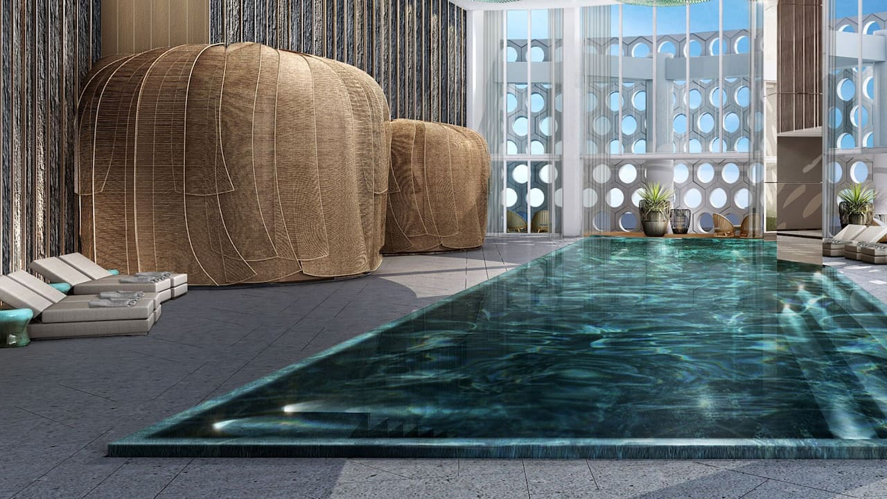 Grand Hyatt Jeju Indoor Pool