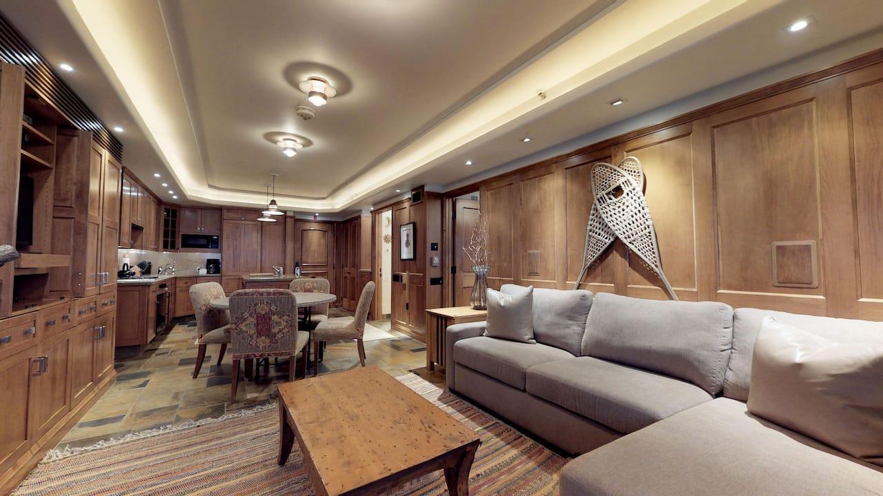 Bridge Street Lodge 1 Living Room
