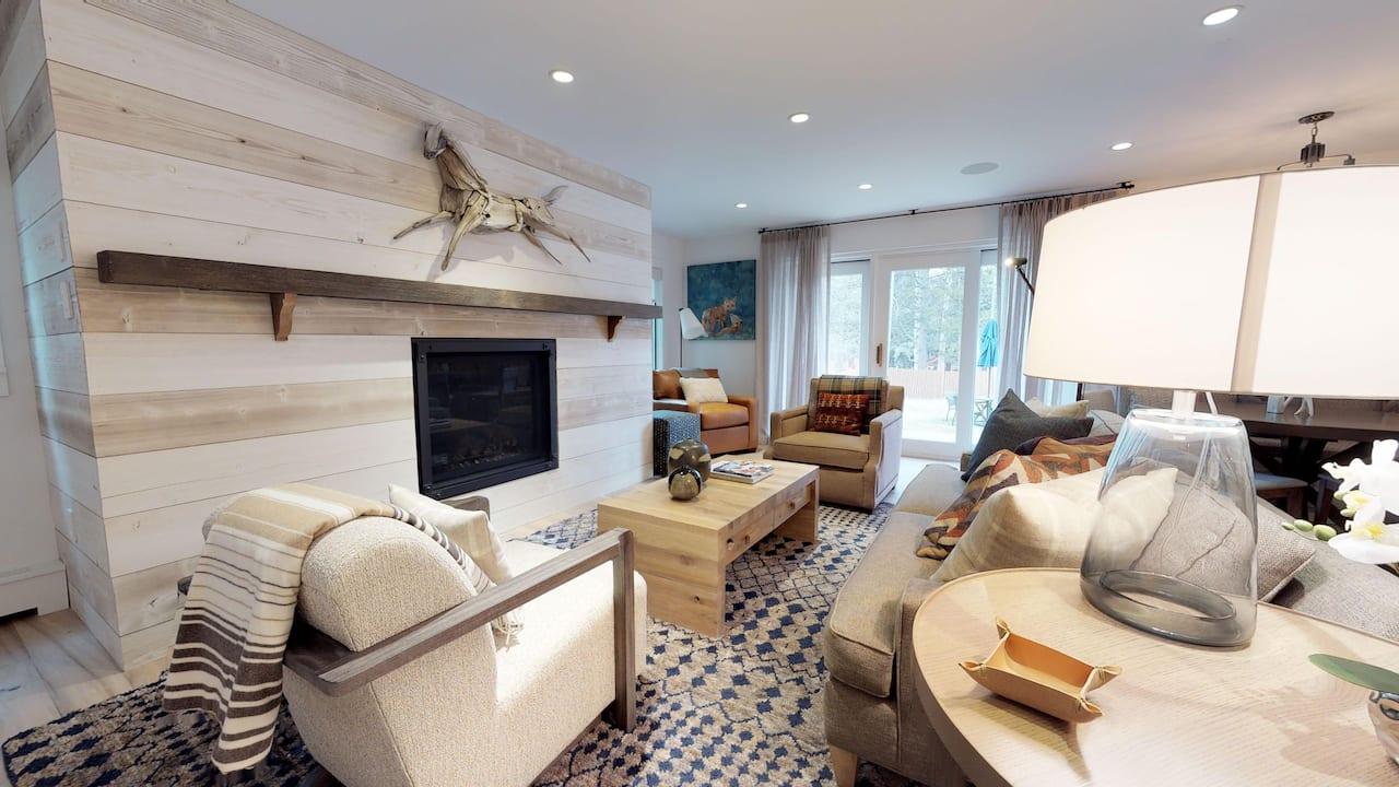 Chateau 2 Bedroom Platinum Living Room