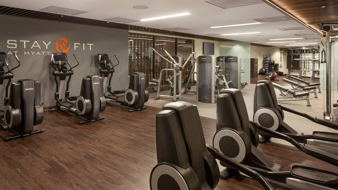 Fitness Center Hyatt Regency San Francisco