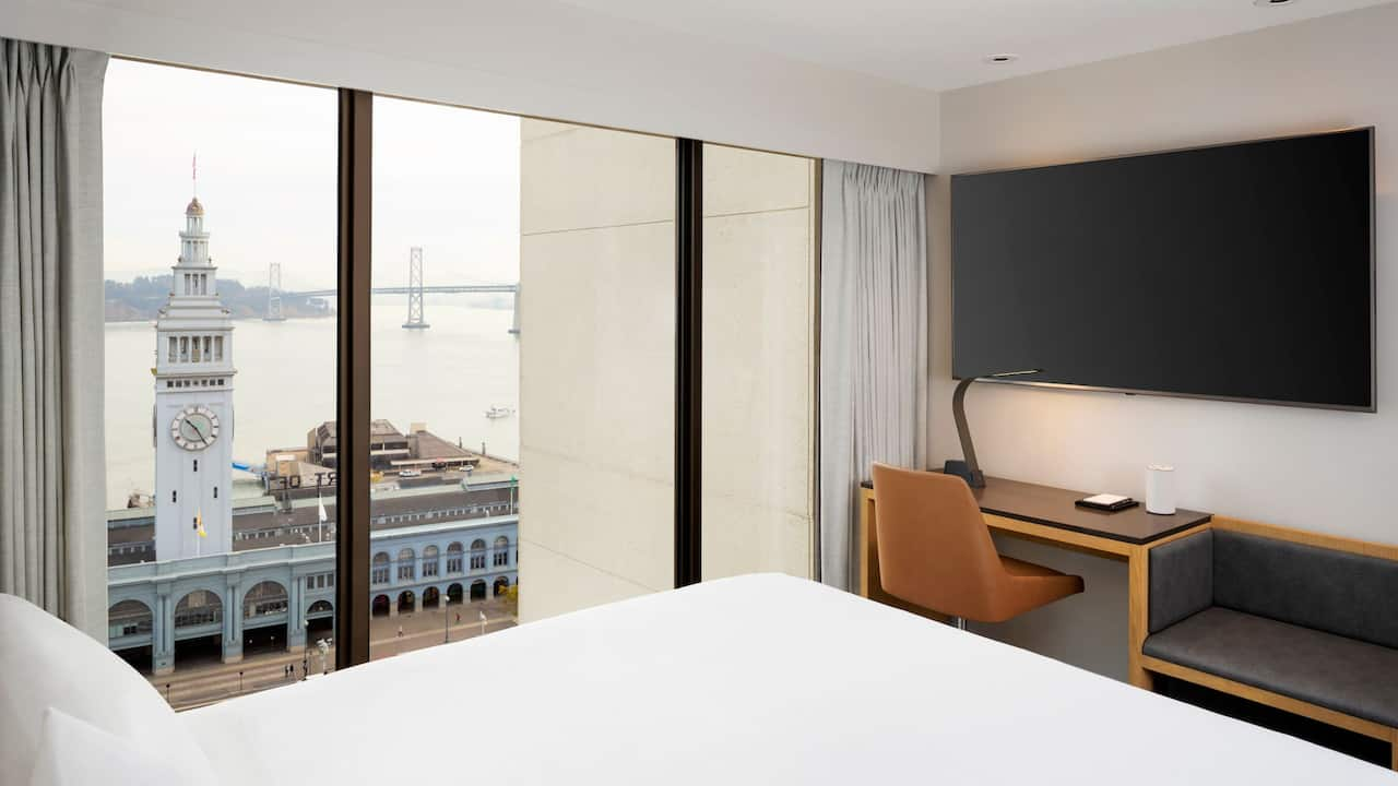 Water View Room at Hyatt Regency San Francisco