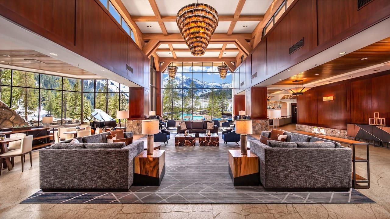 Resort at Squaw Creek Lobby