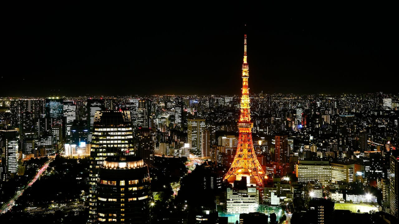 Andaz Tokyo Tower View Night