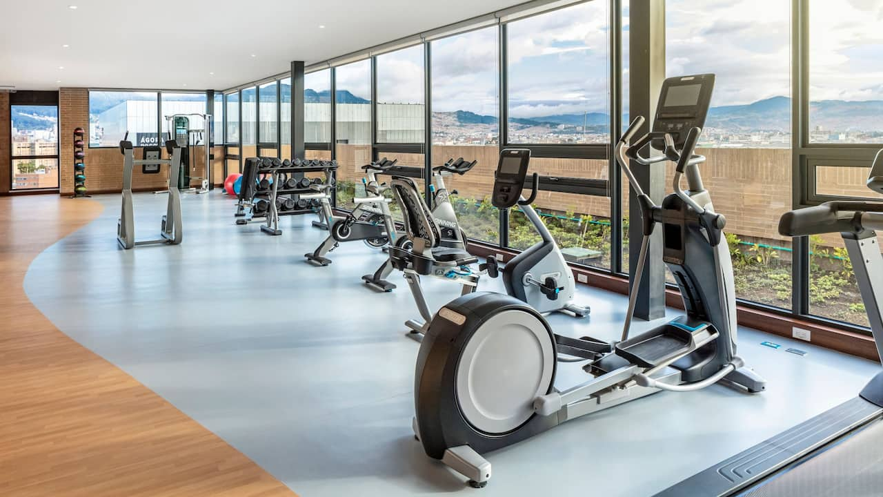 Hyatt Place Bogota Fitness Center