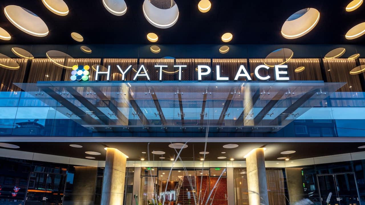 Hyatt Place Bogota Entrance