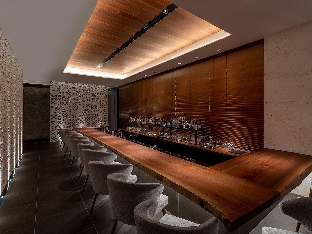 Hyatt Regency Seragaki Island Okinawa Shirakachi Bar