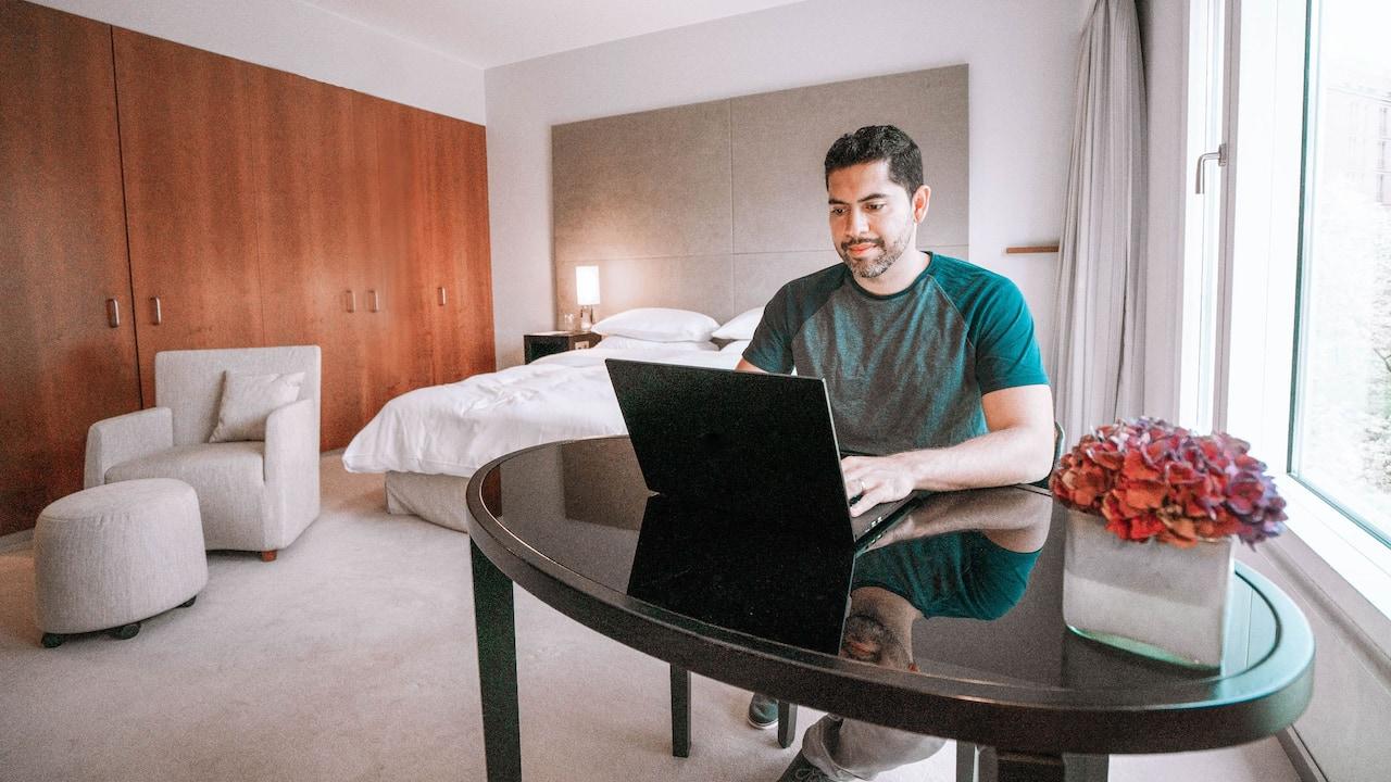 Work in Suite