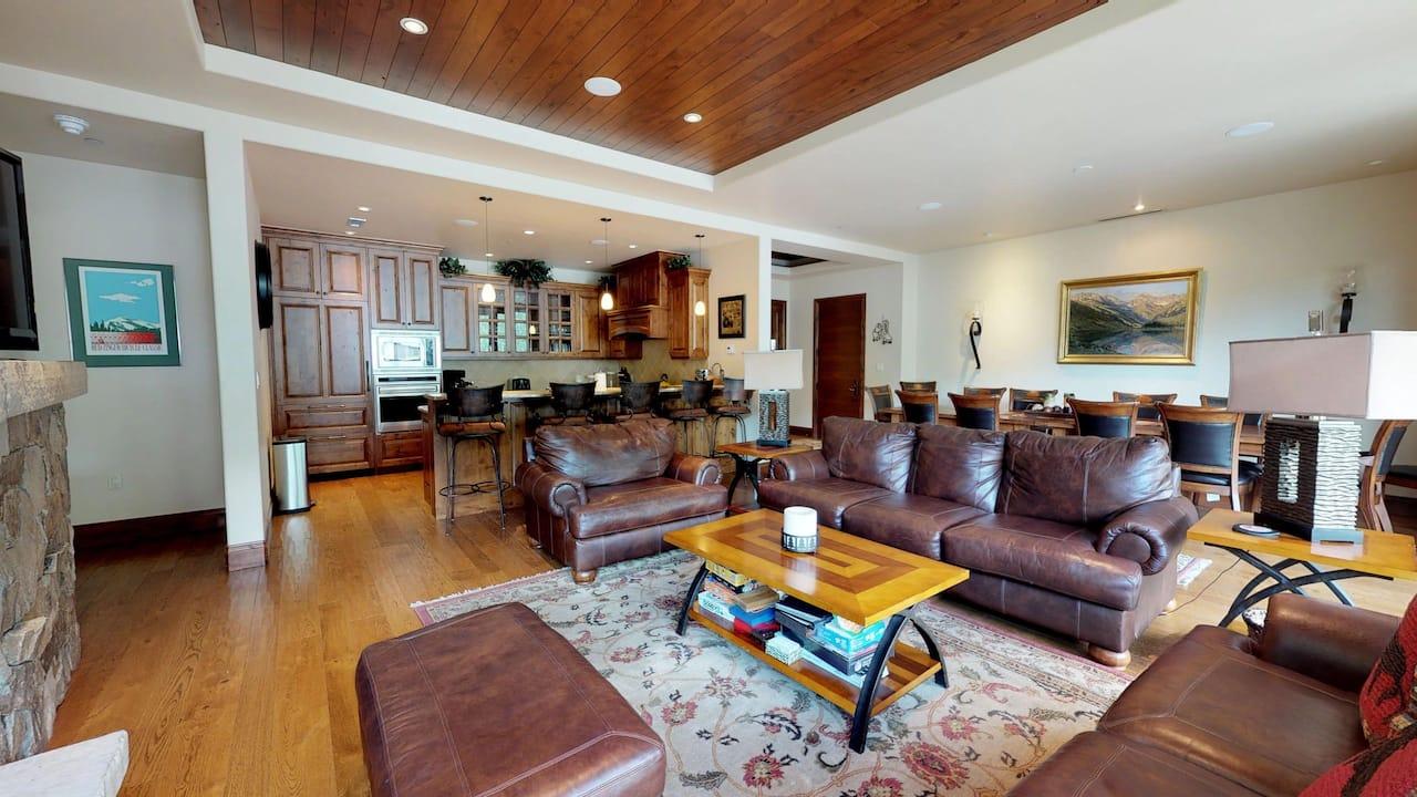 Four Bedroom Platinum Westhaven Living Room