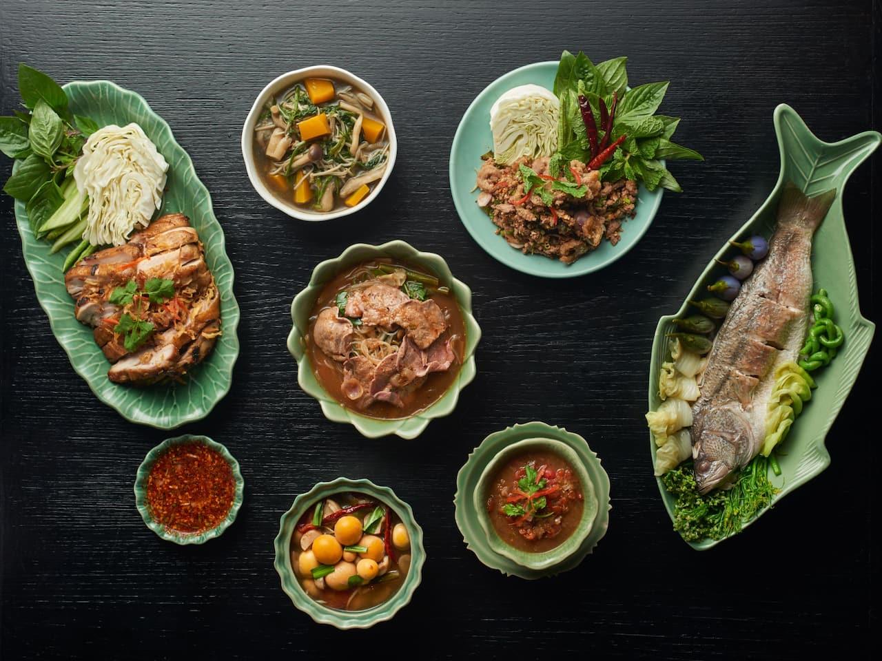 Northeastern Thai Food - Erawan Tea room