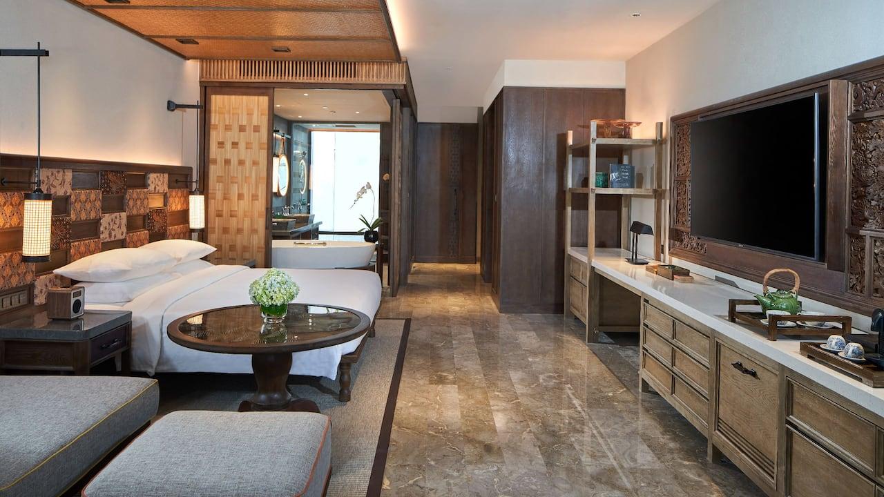 Luxury Bali hotel room