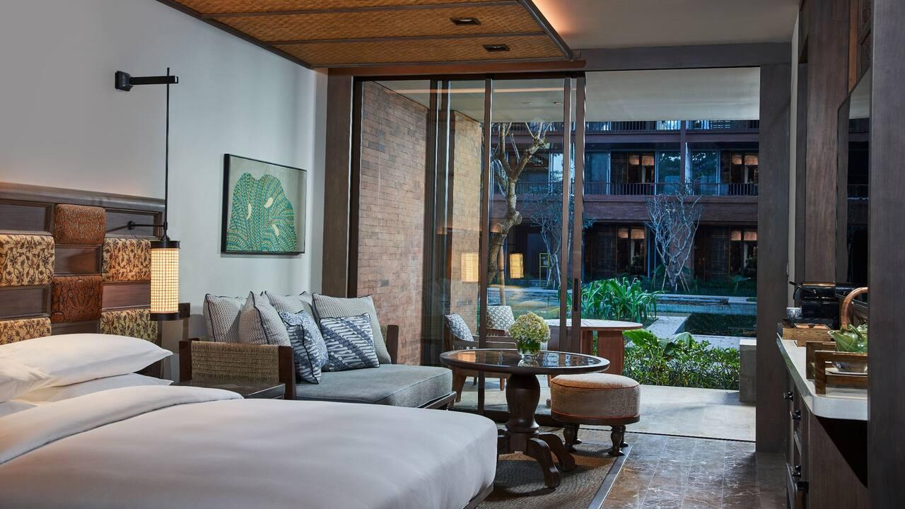 Guestroom at Andaz Bali