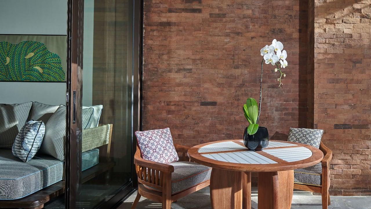 Guestroom Balcony at Andaz Bali