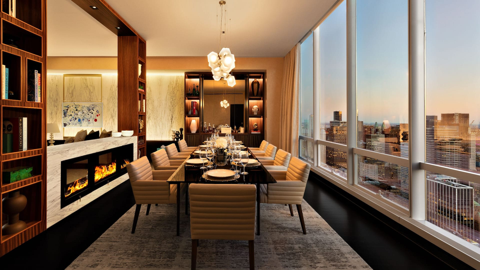 Sky Suite Dining Room