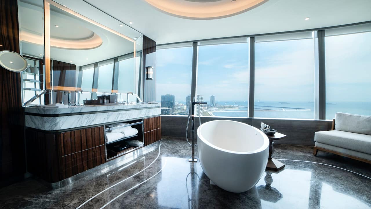 Bathroom at Hyatt Regency Istanbul