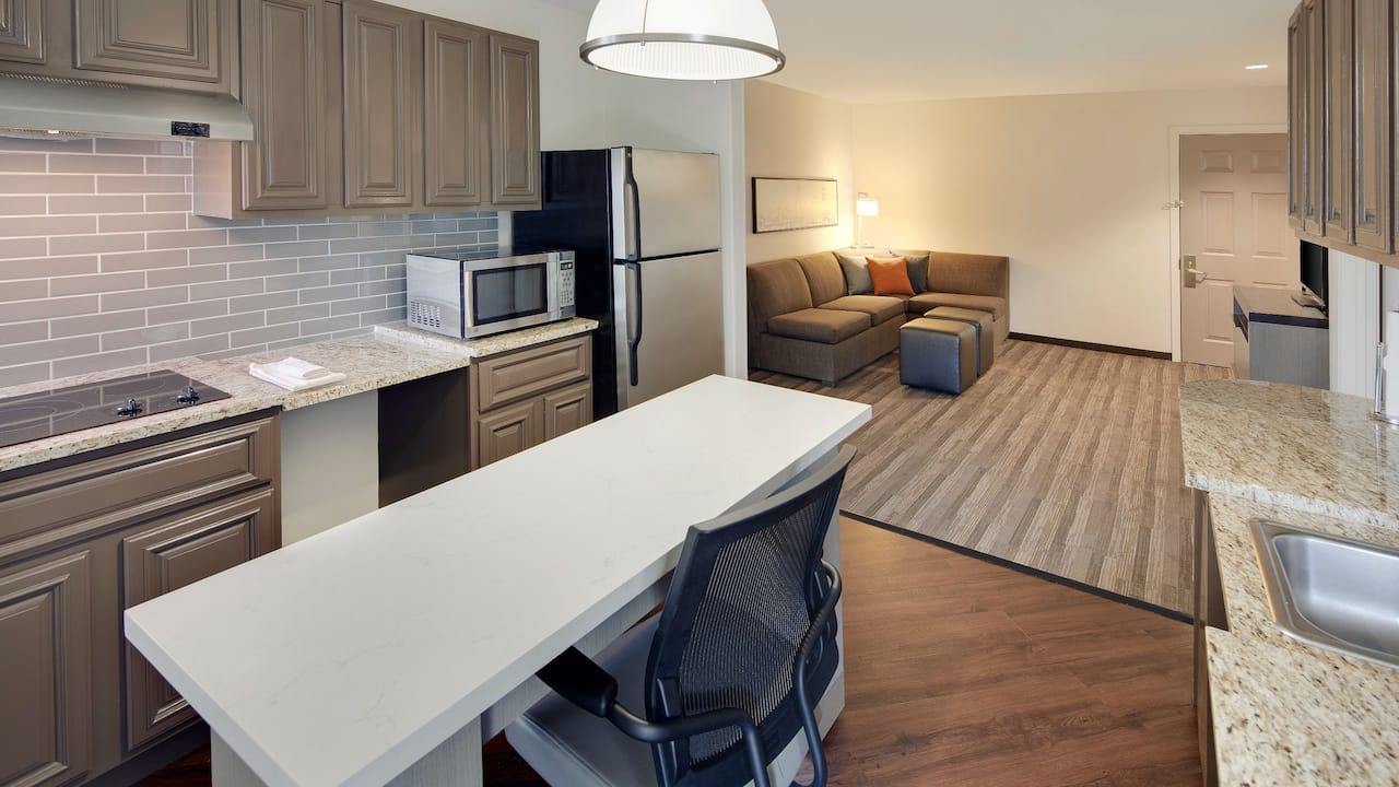 Accessible 2 Bedroom Living Area