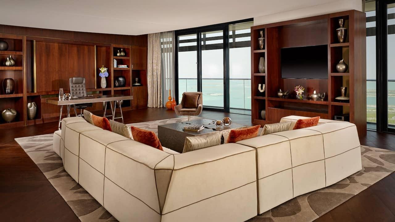 presidential suite grand hyatt abu dhabi hotel