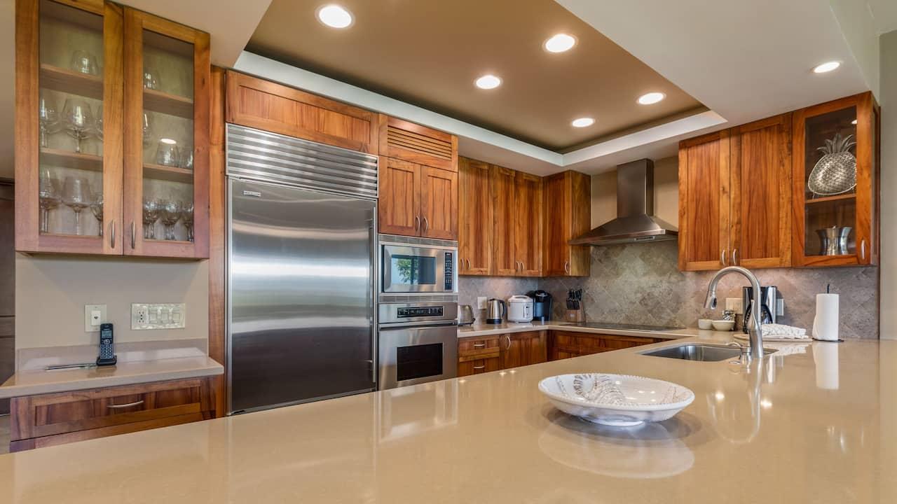Mauna Lani Point Kitchen