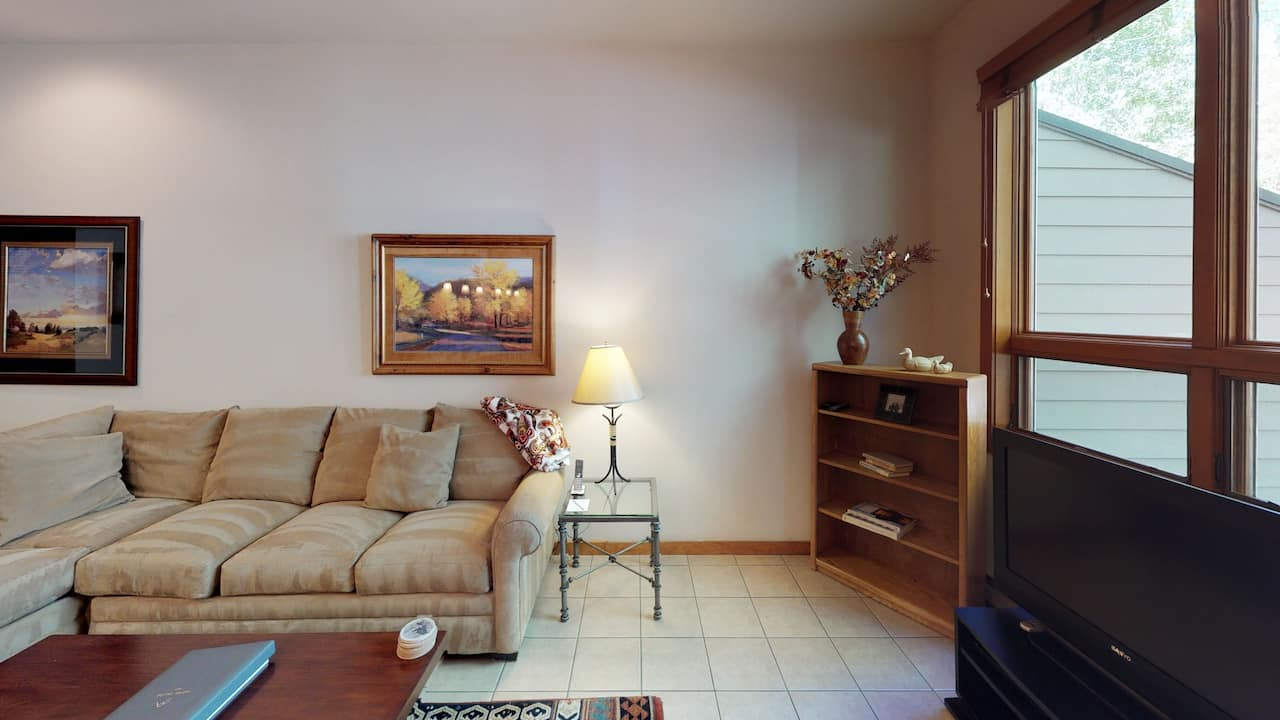 One Bedroom Gold Coldstream or Millrace Living Area
