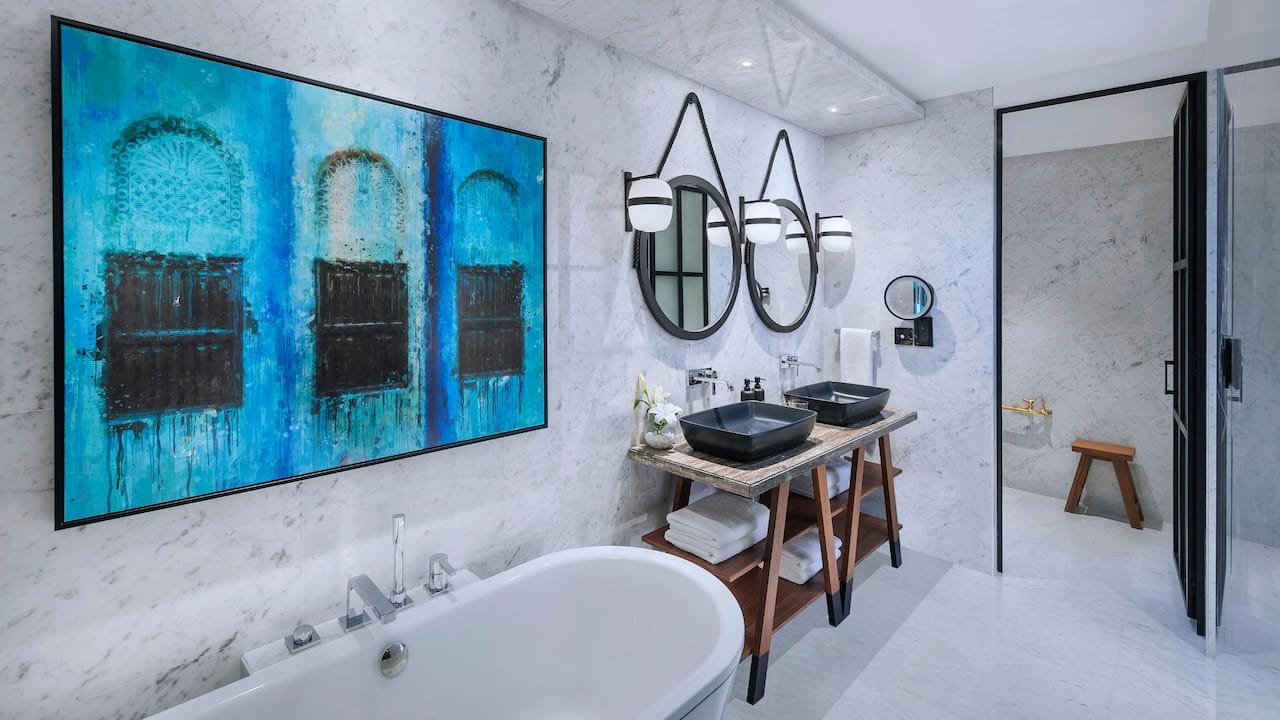 Andaz Suite Bathroom
