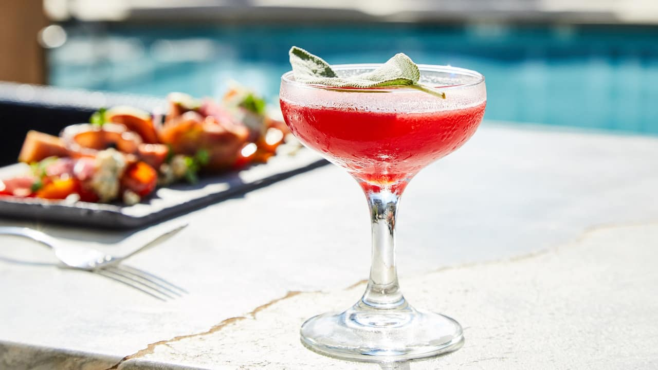 Refreshing Poolside Cocktails