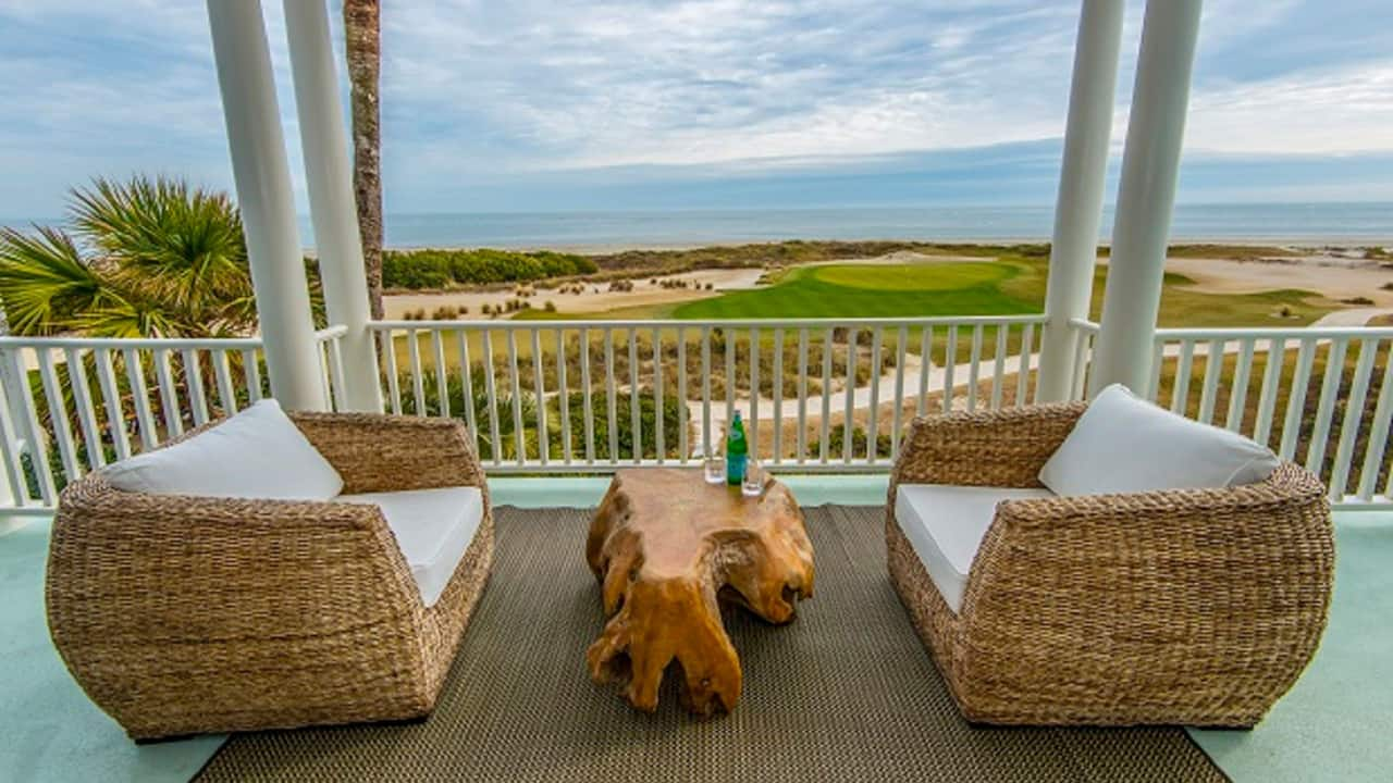 Golf Vacation Rental View