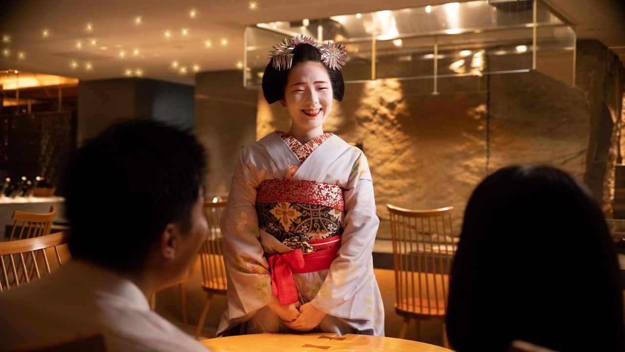 Maiko Greeting