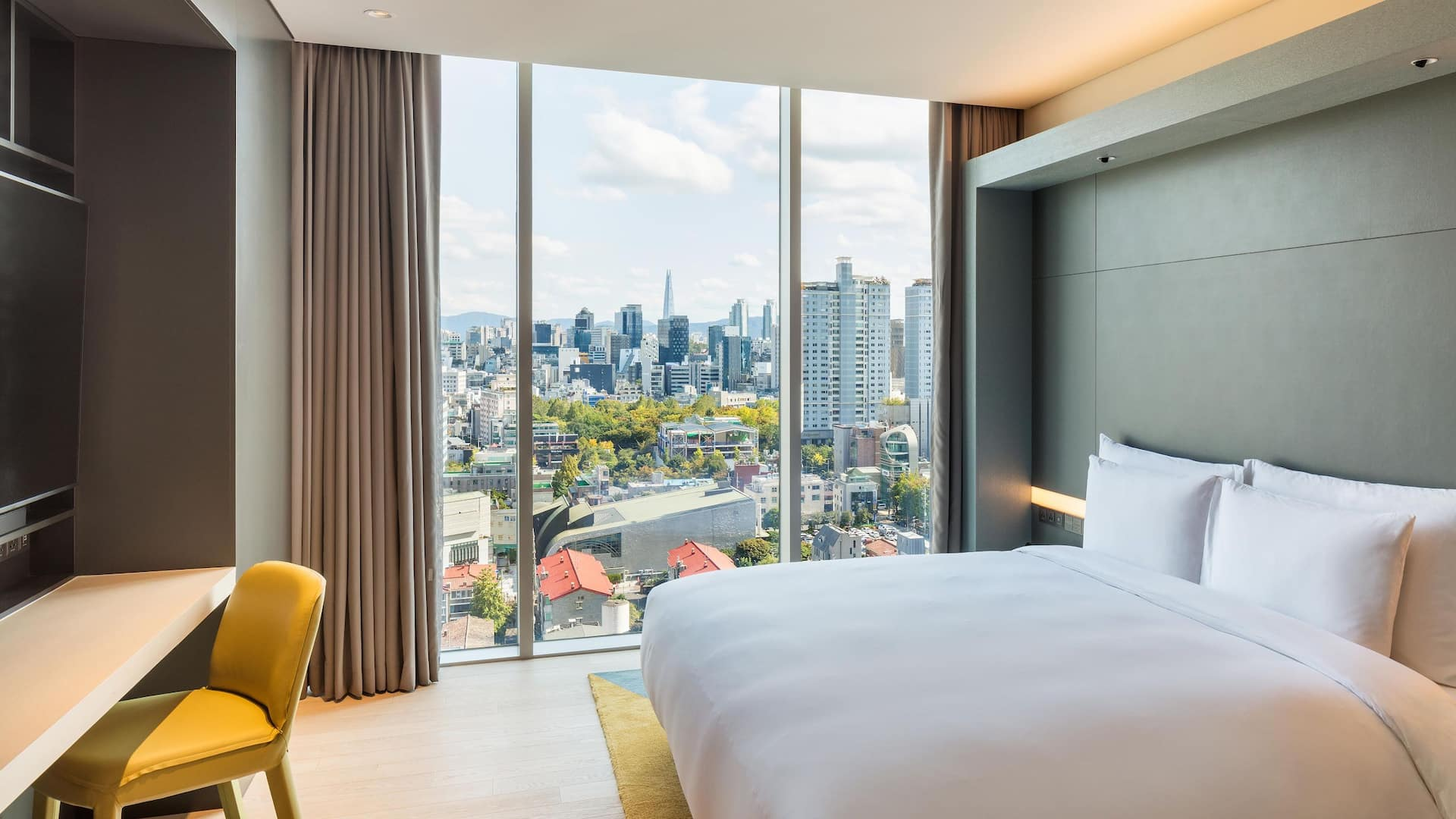 Andaz Seoul Gangnam Sky Terrace Suite Bedroom