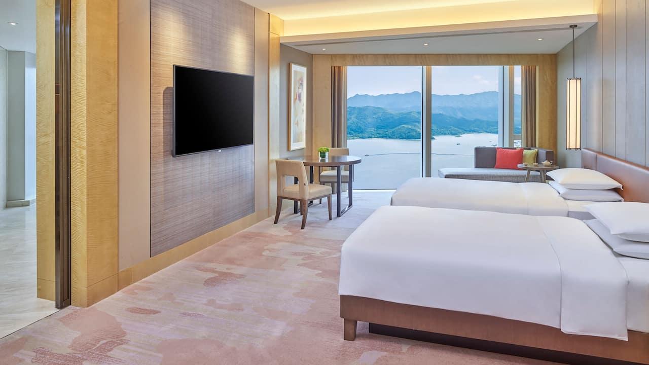 海景豪华双床房 | 深圳盐田凯悦酒店