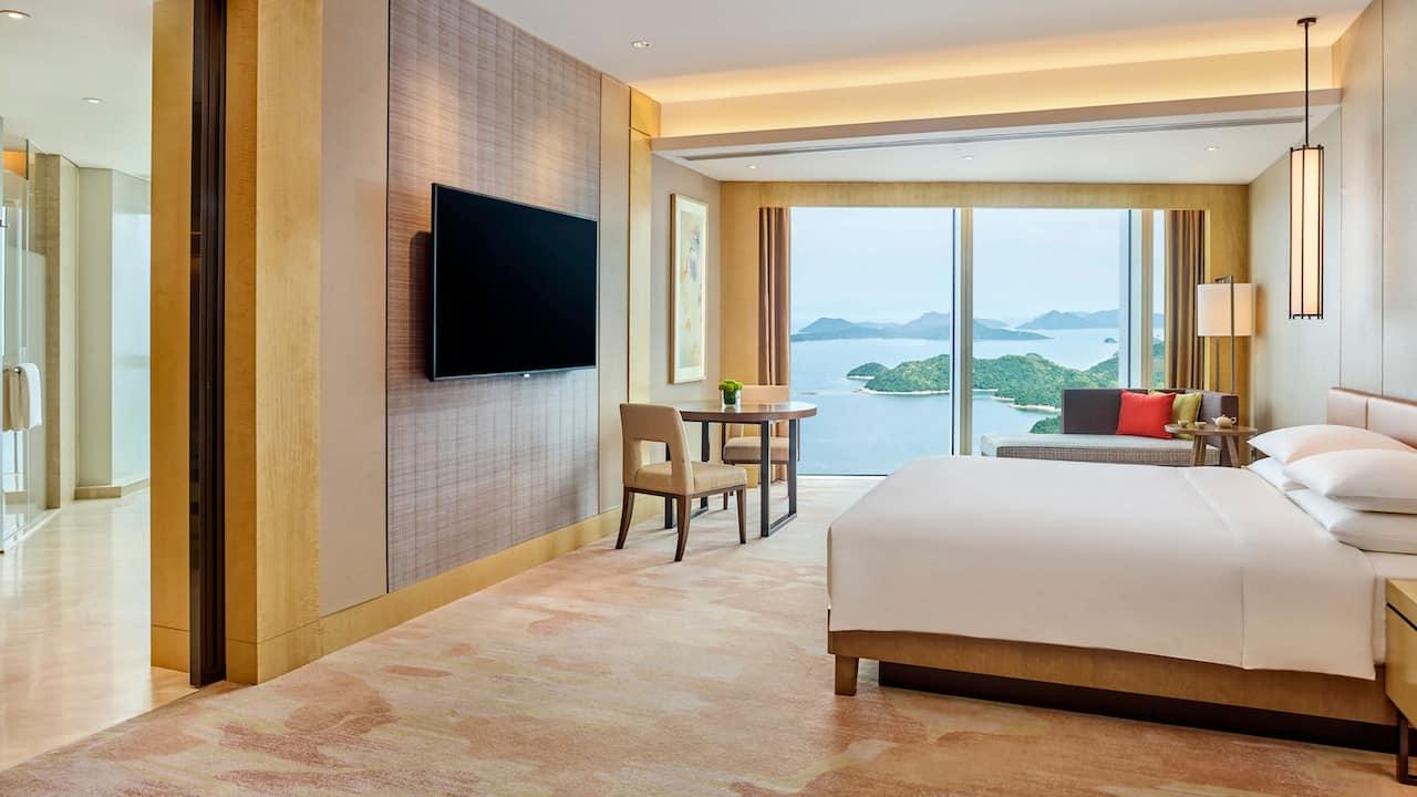 海景豪华大床房 | 深圳盐田凯悦酒店