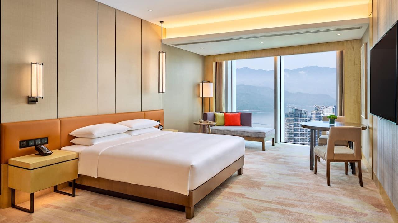 豪华大床房 | 深圳盐田凯悦酒店