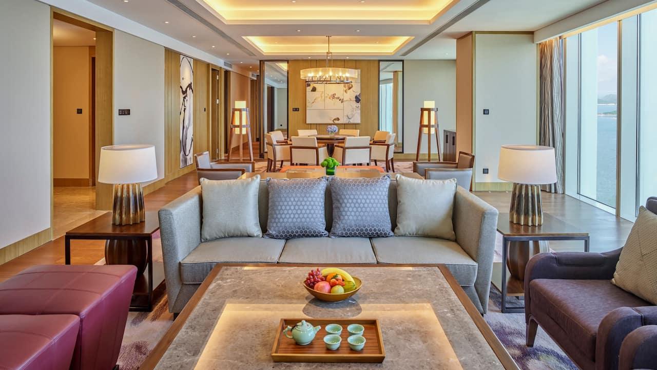 总统套房 | 深圳盐田凯悦酒店