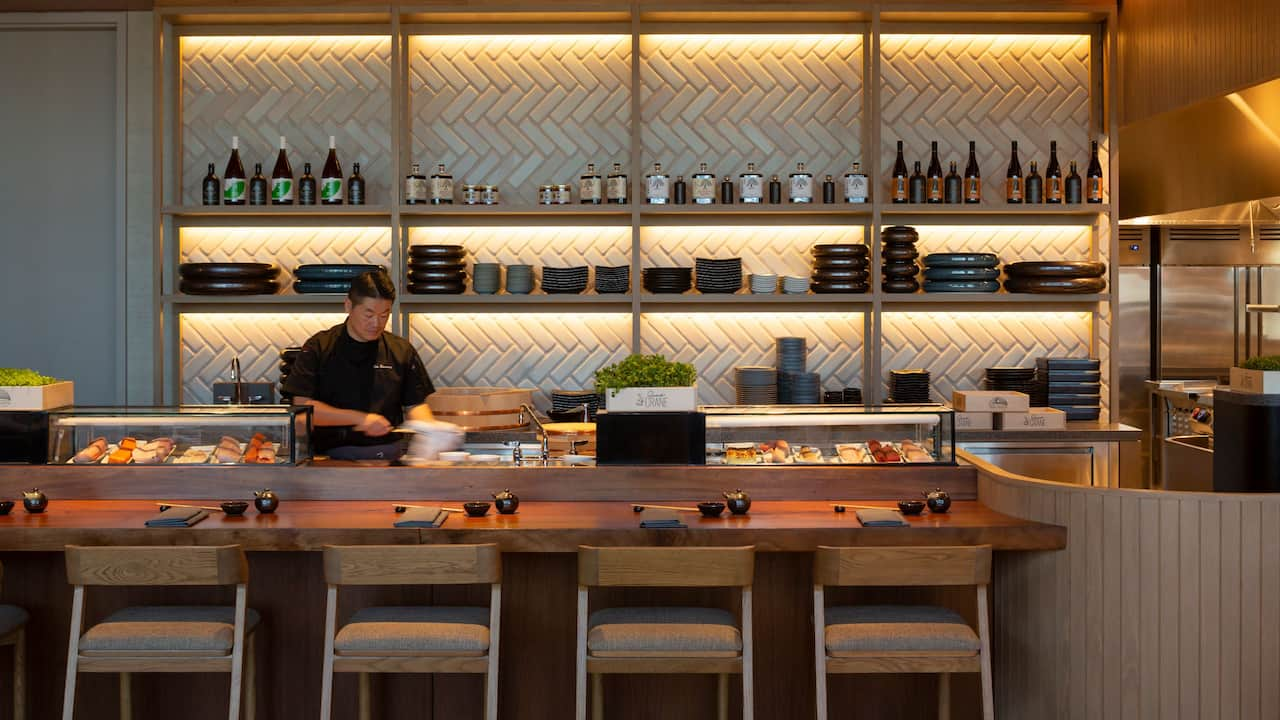 Sushi Bar with Chef