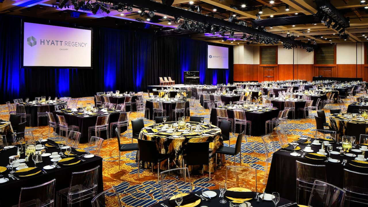 Imperial Ballroom Gala Setup