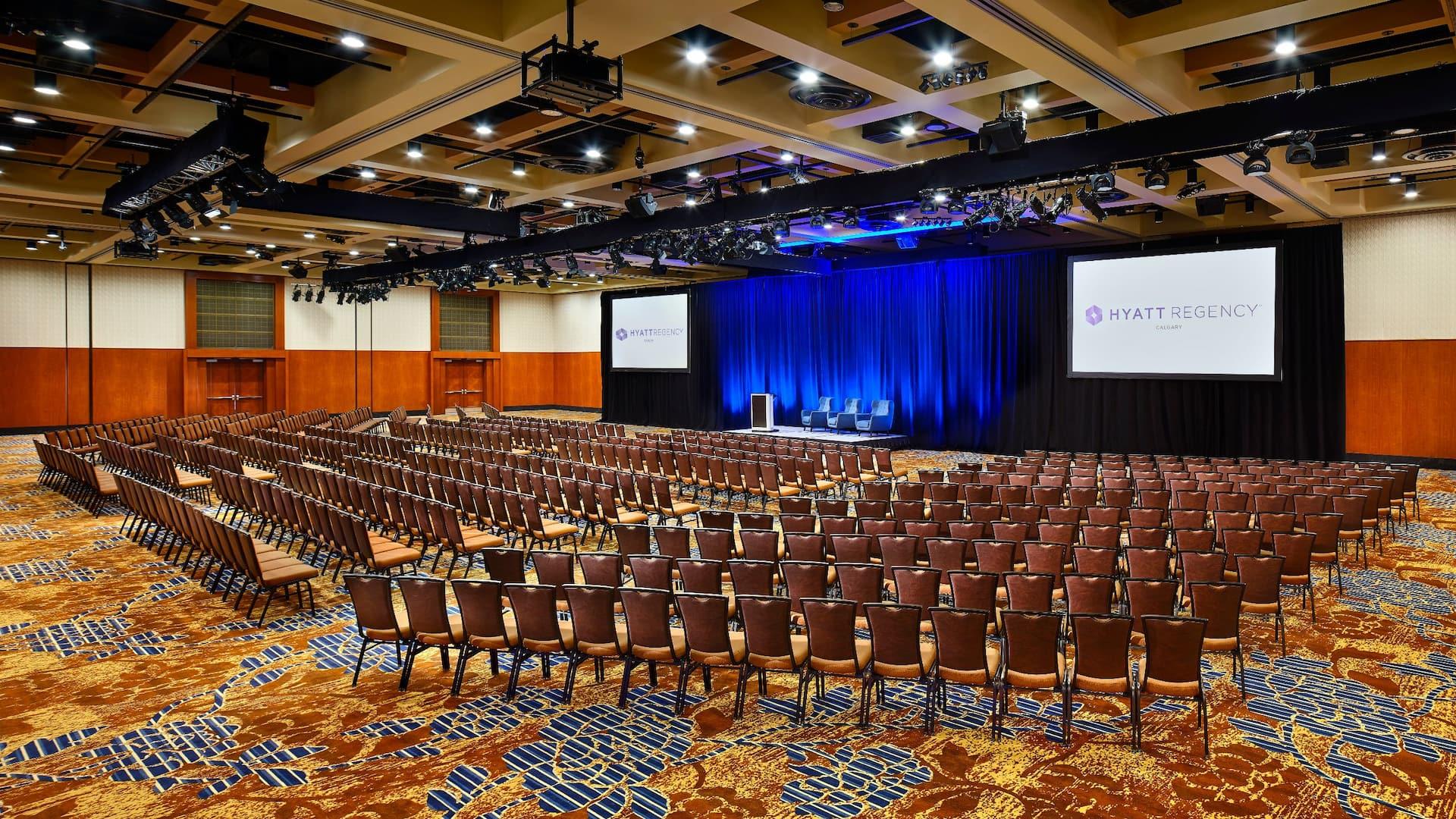 Hyatt Regency Calgary Theater Meeting Rooms