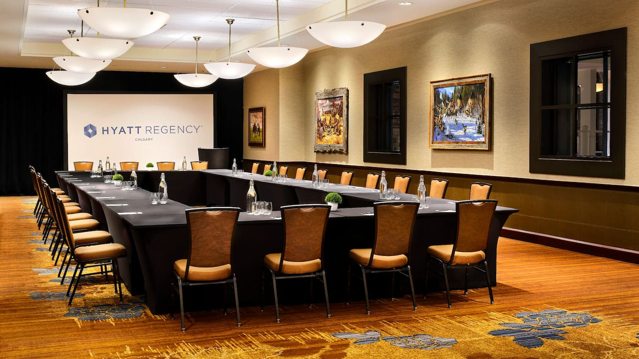 Boardroom Meeting Space Hyatt Regency Calgary