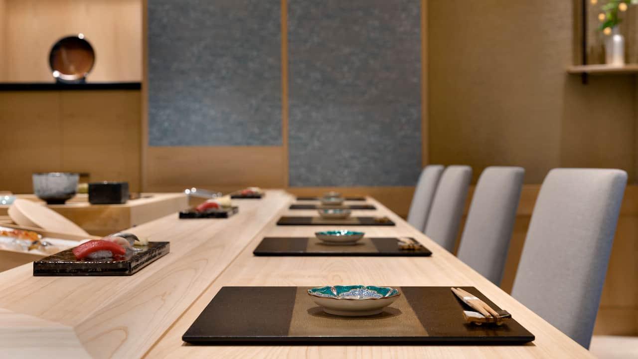 Sushi Ema Counter