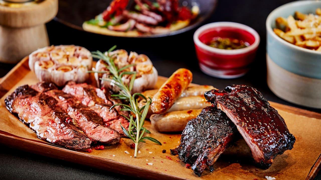 Meat Platter Closeup