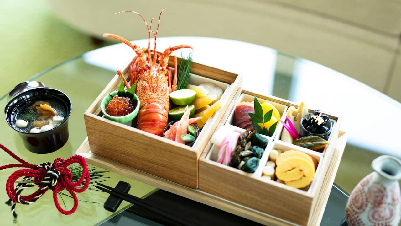 festive osechi room service