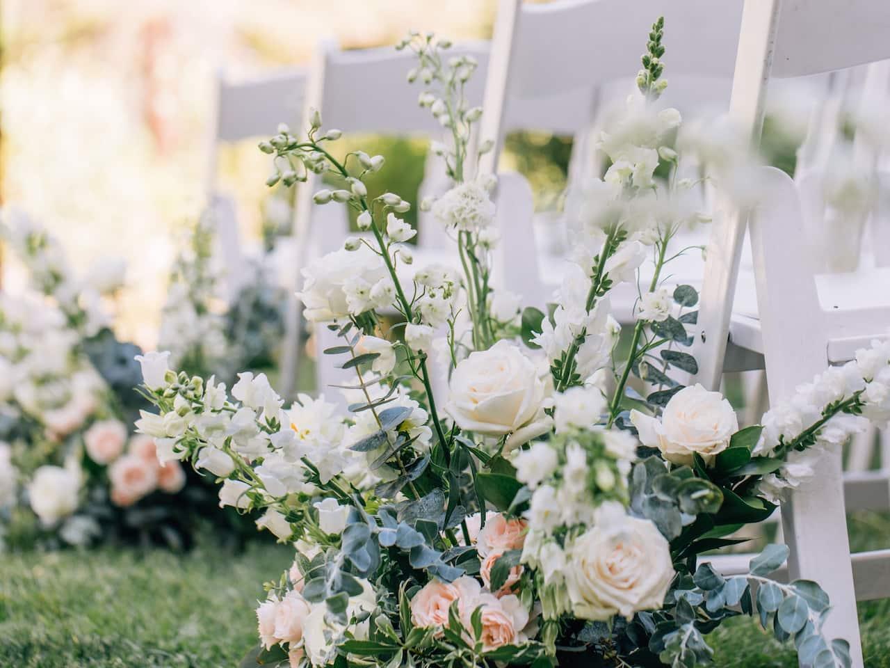 Wedding Talisa Garden Flowers