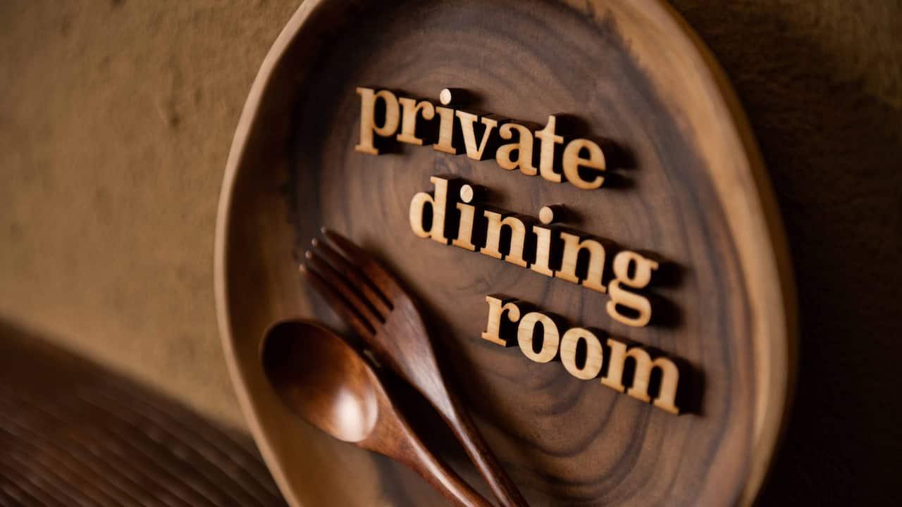 Hyatt Regency Hakone Resort & Spa| Private Dining Room