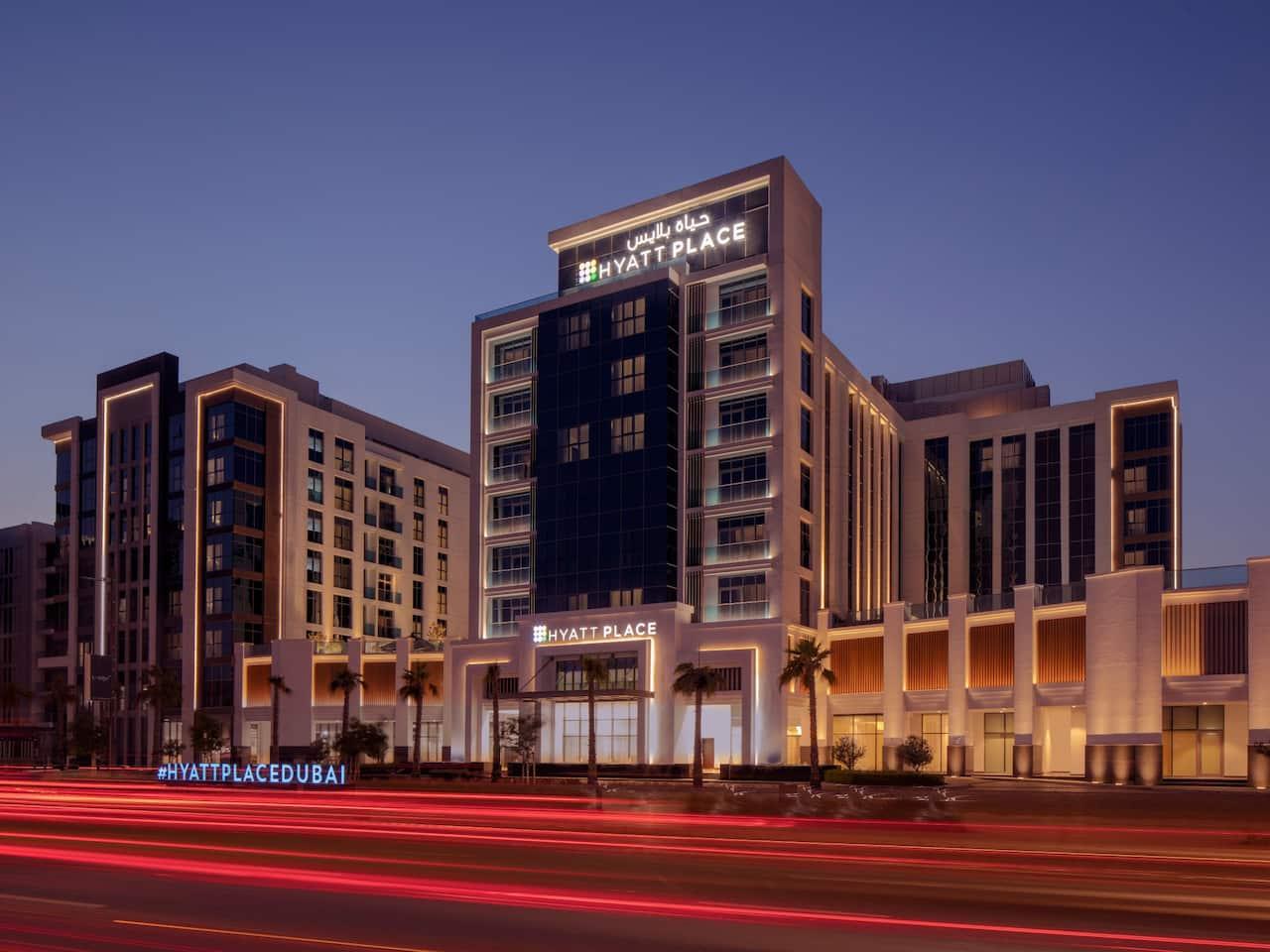 Jumeirah Facade Dusk