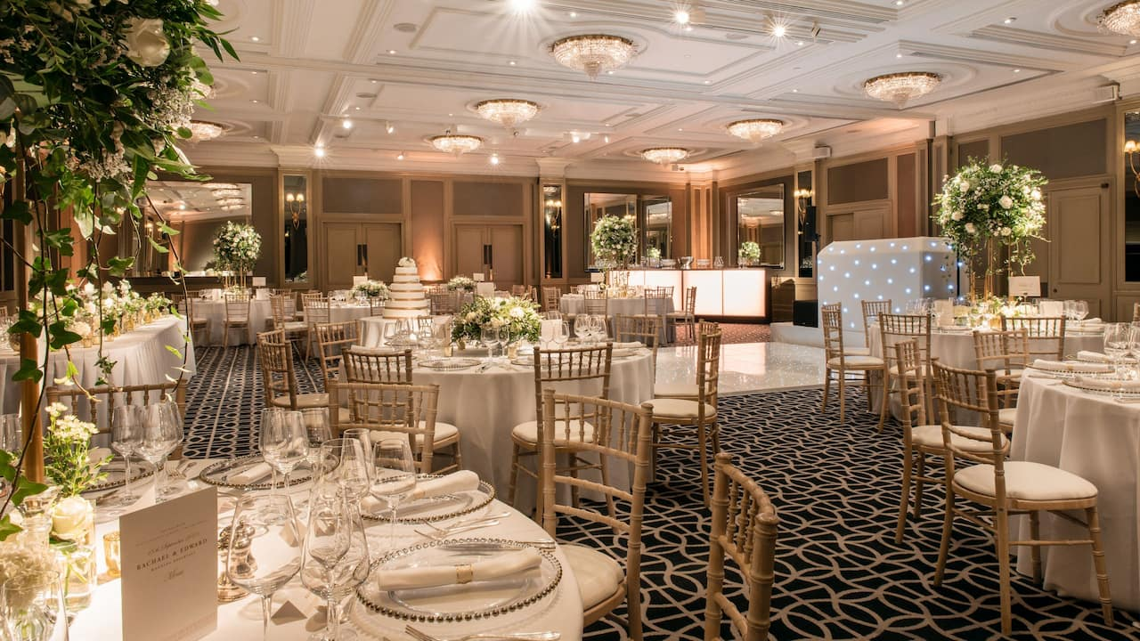 Best Wedding Venue in London | Hyatt Regency London - The Churchill