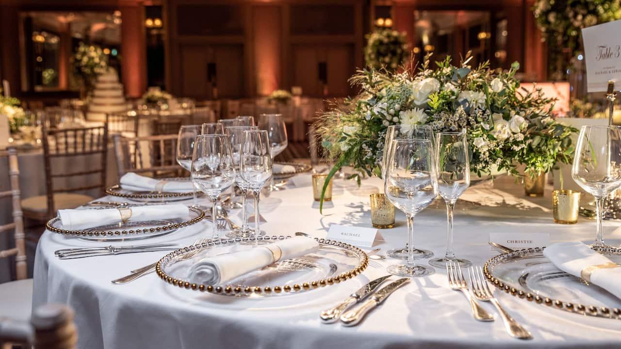 Civil Wedding Ceremony | Hyatt Regency London - The Churchill