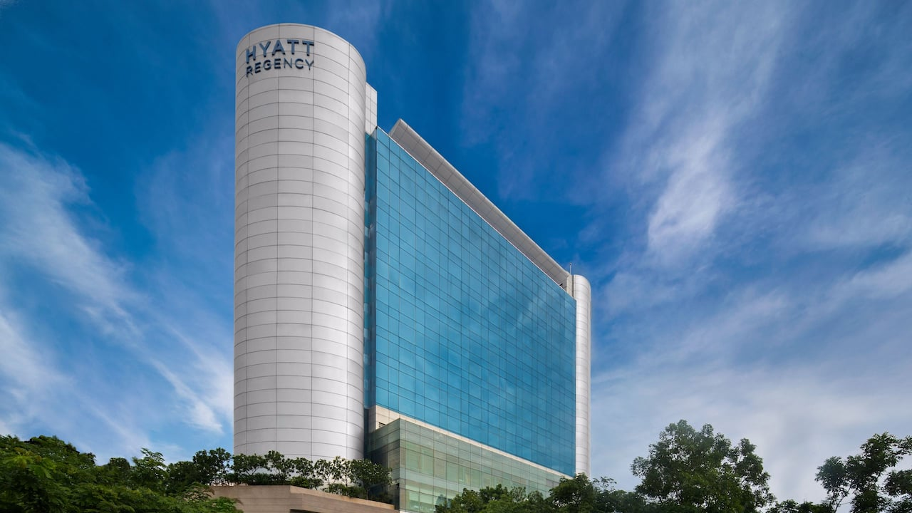 Hyatt Regency Chennai Facade Day