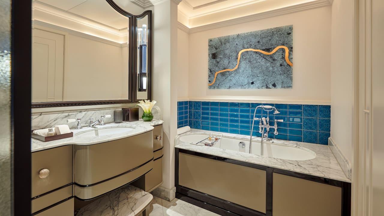 Luxury Bathroom Details | Great Scotland Yard Hotel